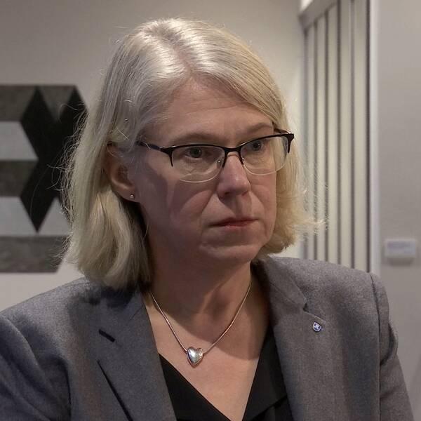 Smittskyddsläkaren Maria Rotzén Östlund