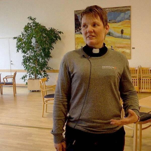 Kirsten Alm kyrkoherde Åtvidaberg