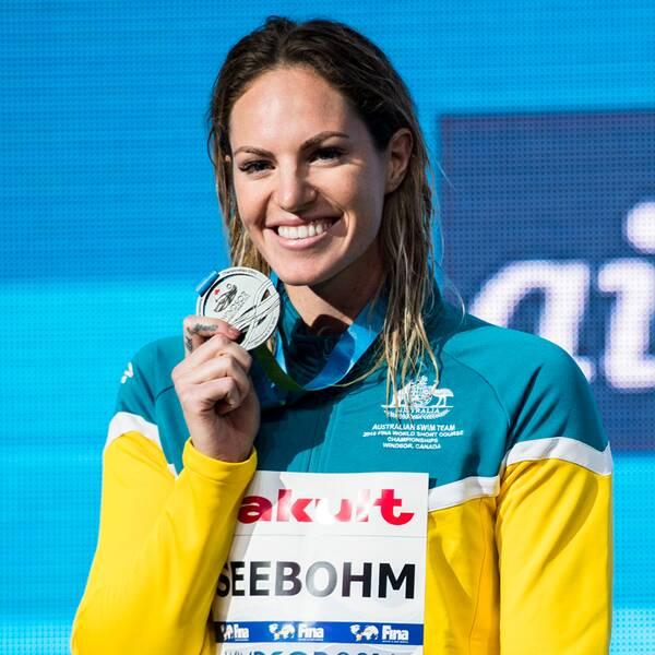 Simmerskan Emily Seebohm från Australien.