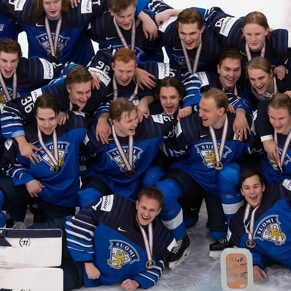 Finland tog JVM-brons.