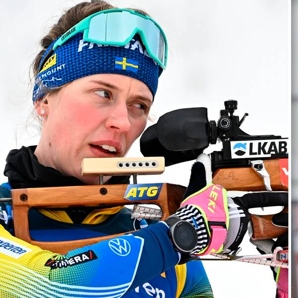 Systrarna Öberg missade pallen i torsdagens sprint.