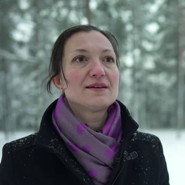 Inspektör på IVO, Suzana Brandt.
