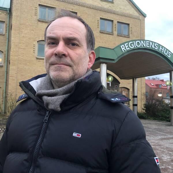 Martin Engström, hälso- och sjukvårdsdirektör.