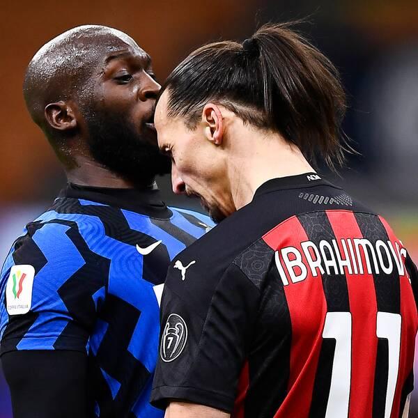 Zlatan Ibrahimovic och Romelu Lukaku hamnade i storbråk.