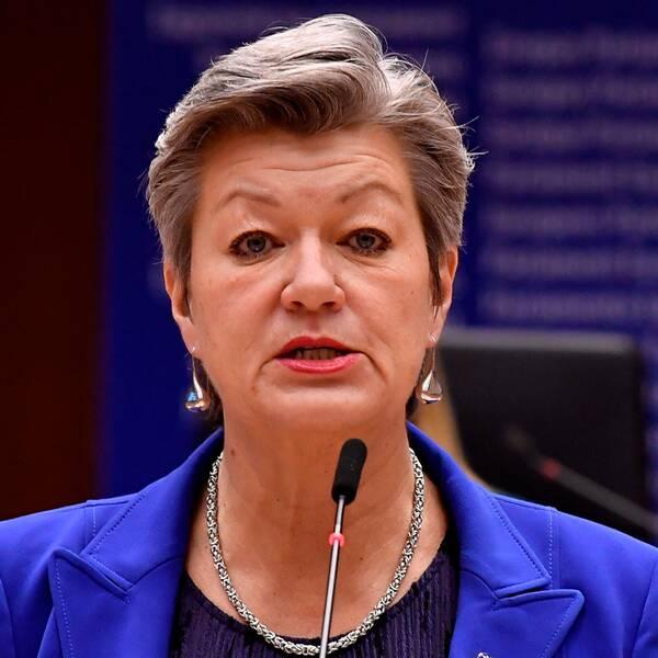 Svenska EU-kommissionären Ylva Johansson.