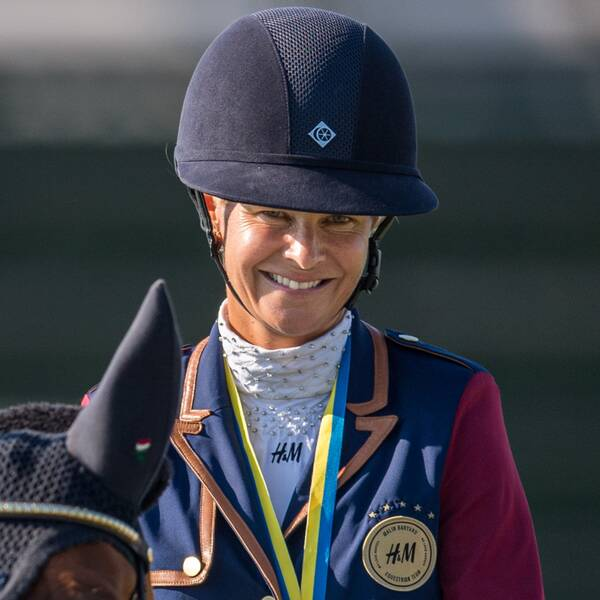Malin Baryard Johnsson blev tvåa i Grand Prix-klassen i spanska Oliva.