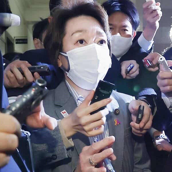 Seiko Hashimoto, 56, tar över som ny OS-chef efter sexismskandalen.