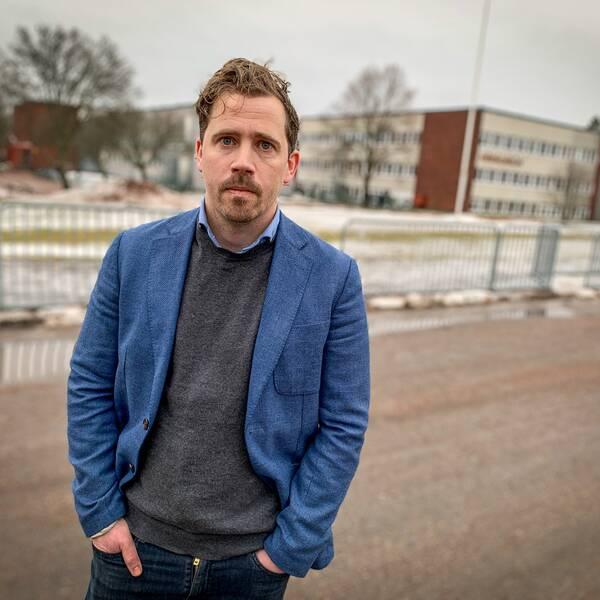 Niklas Hedqvist, rektor Sofiedalskolan.