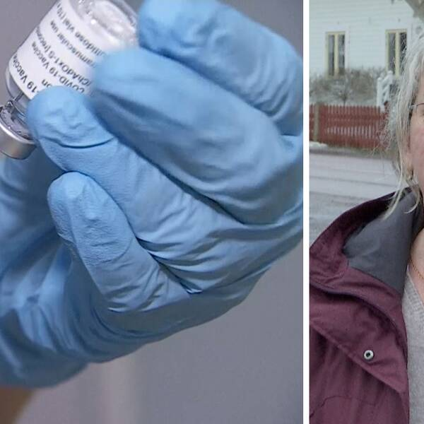 Angelica karlström medicinskt ansvarig sjuksköterska smedjebacken vaccin spruta dos covidvaccin