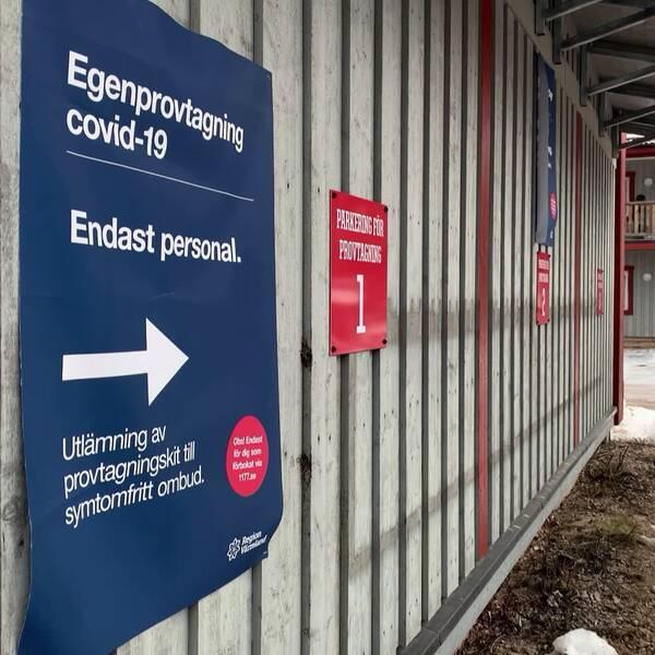 Personalen i Branäs tror att det kommer att vara fortsatt få som testar sig de kommande dagarna.