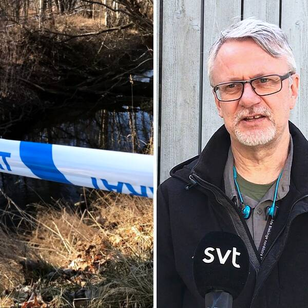Polisens kommunikatör Thomas Johansson
