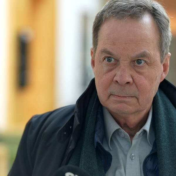 Karl Hedin ser Västmanlands Tingsrätts friande dom som ett etappmål.