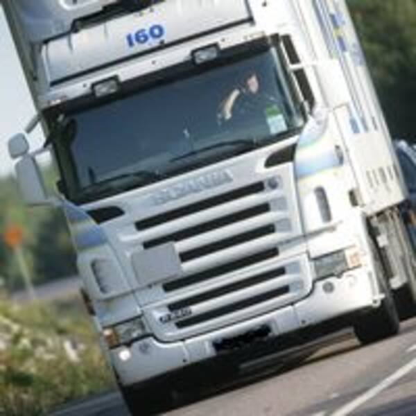 Lastbil, lastbilschaufför, trafik