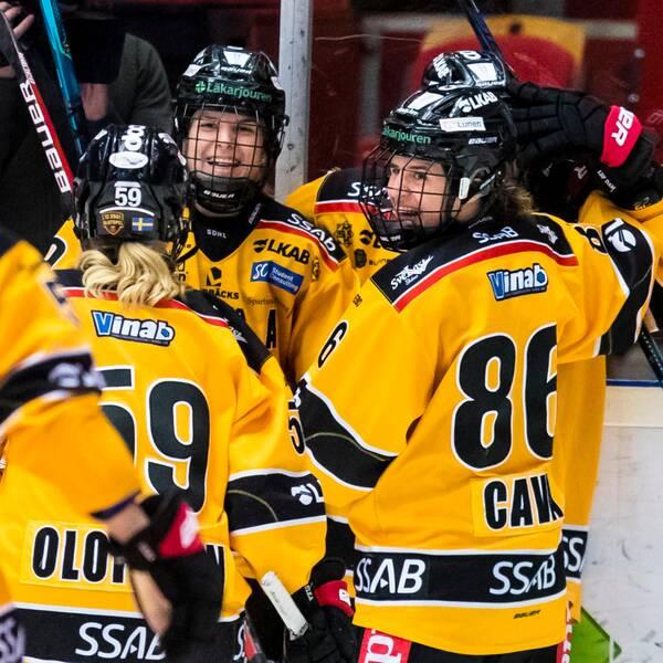 Luelå slog Brynäs efter förlängning.