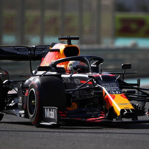 Max Verstappen vann kvalet i Bahrain.