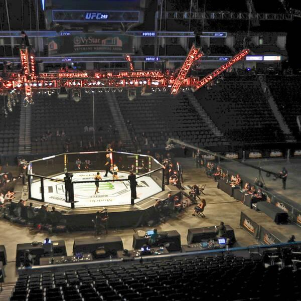 Arkivbild från UFC 249
