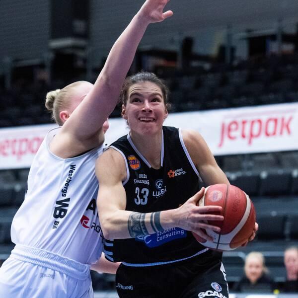 Luleå Margaret Lucas dominerade mot Umeå.