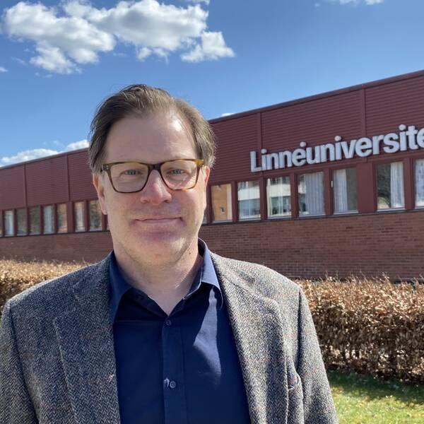 """Peter Citron, antagningschef på Linnéuniversitetet om ansökningsboomen: """"Blir tuffare konkurrens om platserna"""". Hör honom berätta mer i klippet."""