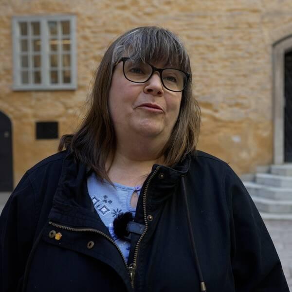 Danskar på flykt satte eld på Västerås, berättar Helen Arnell, Västmanlands läns museum.