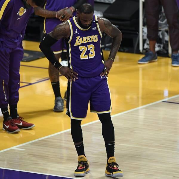 Tung förlust i comebacken för LeBron James.