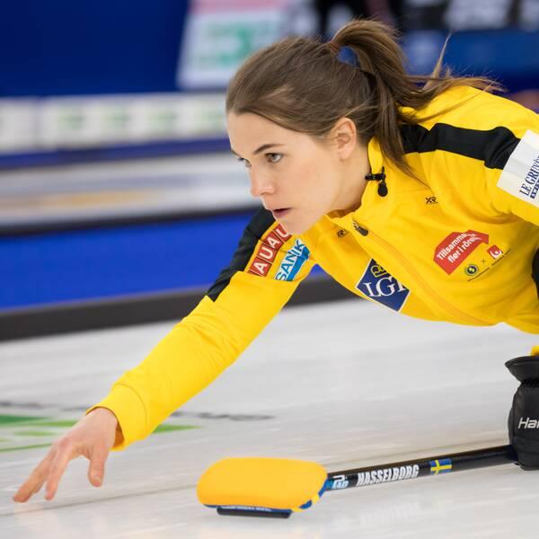 Sverige besegrade Tjeckien i curling-VM.