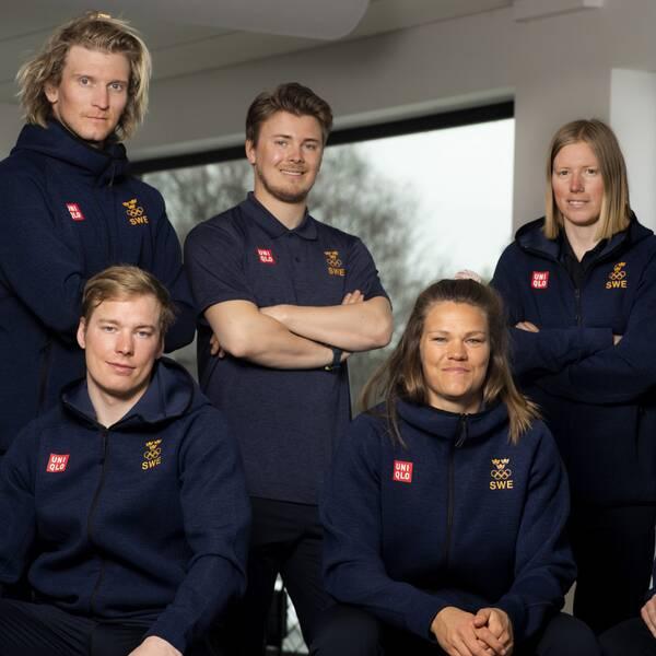 I dag togs sju nya atleter ut till vinter-OS.