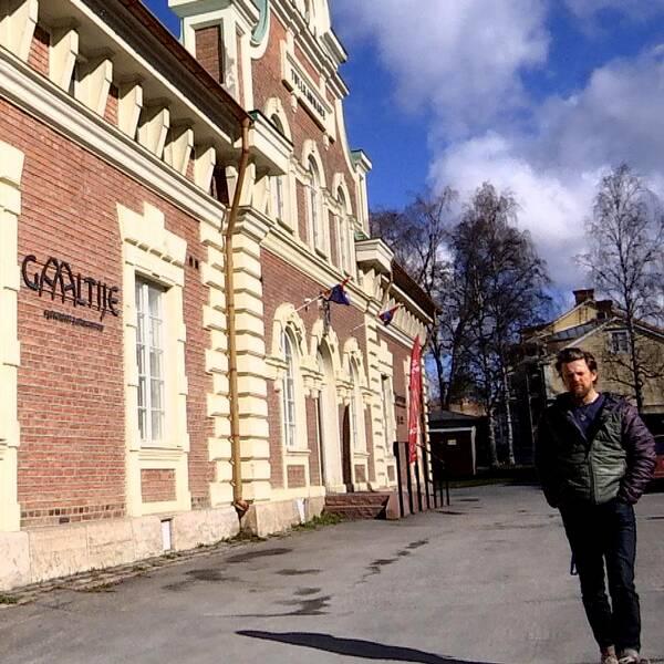 Jerker Bexelius verksamhetschef sydsamiskt kulturcentrum Galltije Östersund