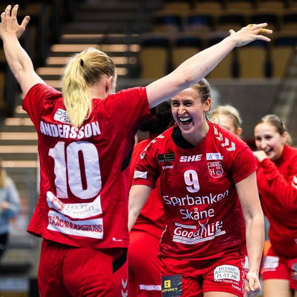 H65 Höör, som föll i SM-finalen mot just Sävehof för två år sedan, fick revansch när man slog ut Partilleklubben i den femte avgörande semifinalen.