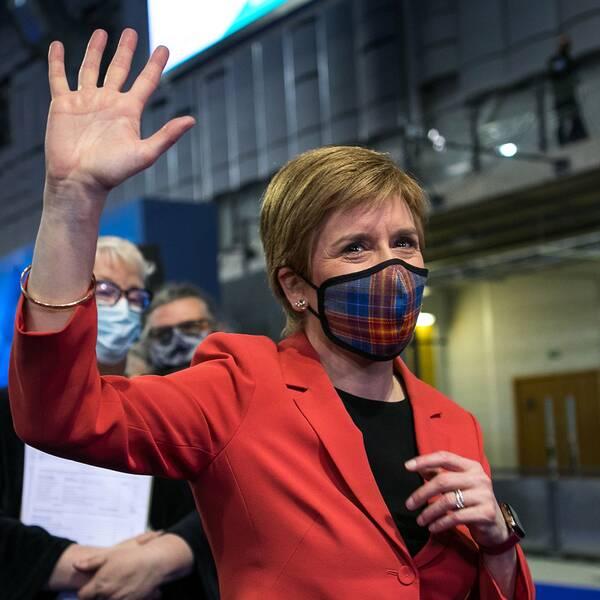 Nicola Sturgeon, Skottlands försteminister och partiledare för nationalistpartiet SNP.