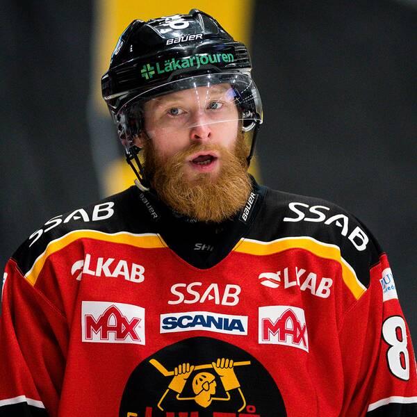 Linus Klasen lämnar Luleå.