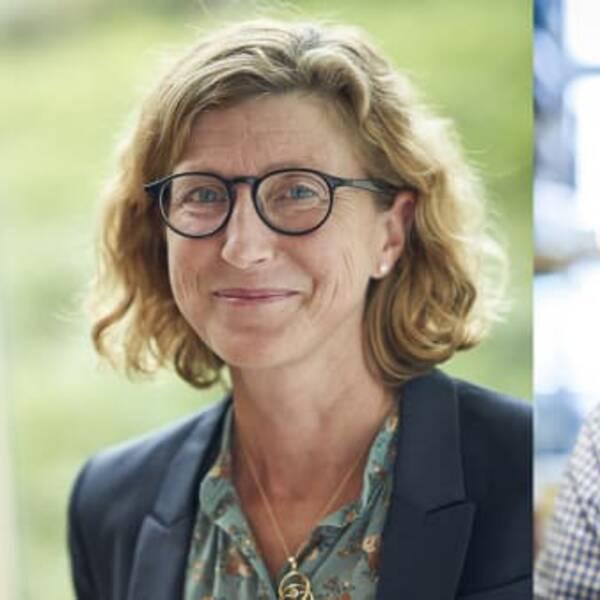 Helena Elding Larsson, verksamhetschef för barnmedicin på Skånes universitetssjukhus och adjungerad professor i pediatrik vid Lunds universitet och Robin Kahn, överläkare på Skånes universitetssjukhus och forskare vid Lunds universitet.