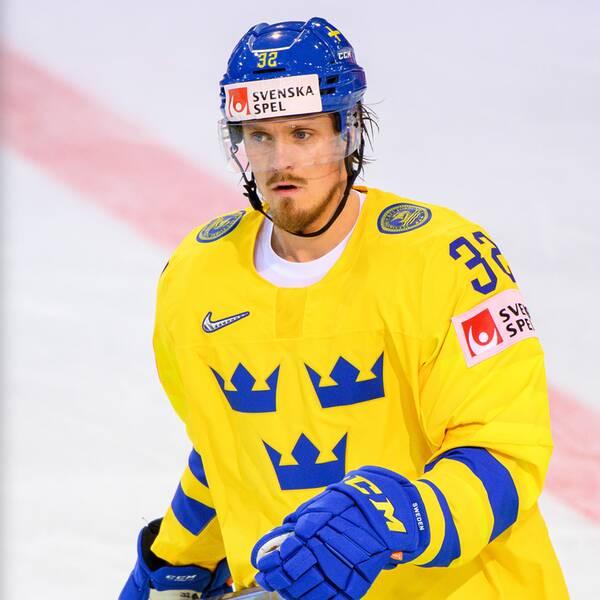 Tre Kronors Magnus Nygren saknar publiken på hockey-VM i Lettland.