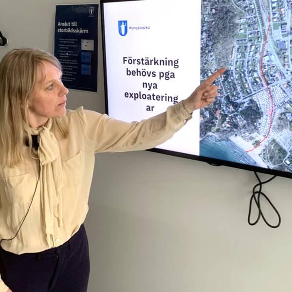 Annika Malm är verksamhetschef för vatten och avfall i Kungsbacka kommun.