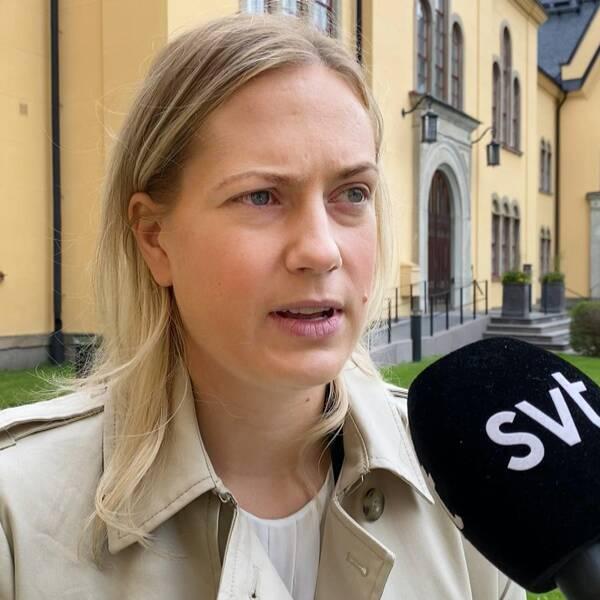 Annika Krutzén (M) kommunalråd och ordförande i social- och omsorgsnämnden Linköping