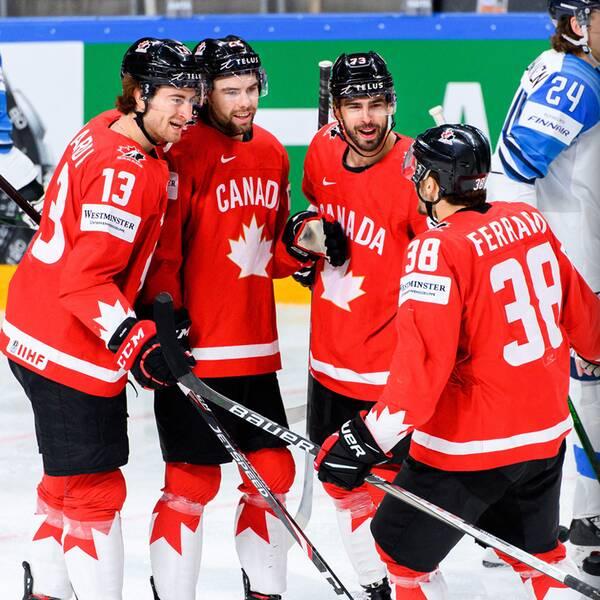 Kanada och det ryska VM-laget drabbar samman redan i kvartsfinal i Riga, Lettland i dag.