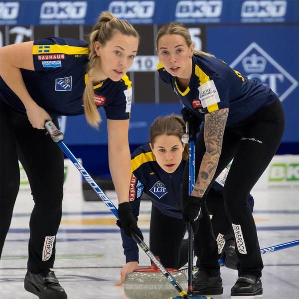 Lag Anna Hasselborg och Oliwer Magnusson var några av dem som fick klartecken inför OS i Peking i dag.