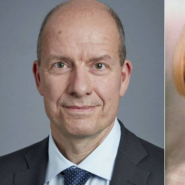 Överåklagare Mats Svensson och mördade 16-åriga Malin Lindström.