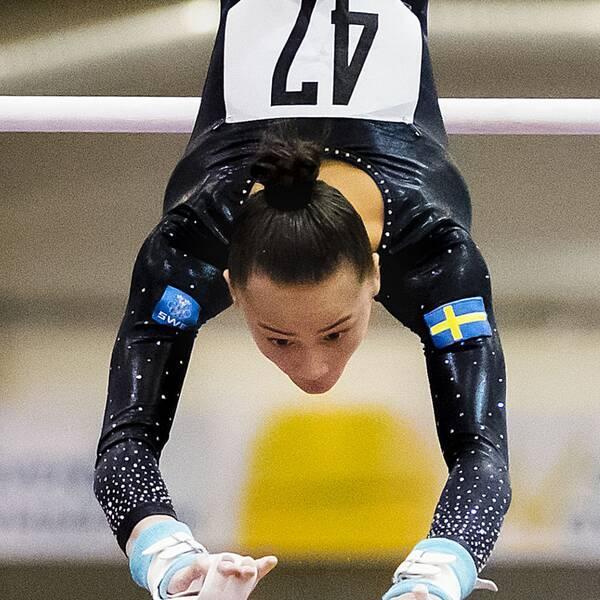 Tonya Paulsson, 17, världscupdebuterade i helgen.