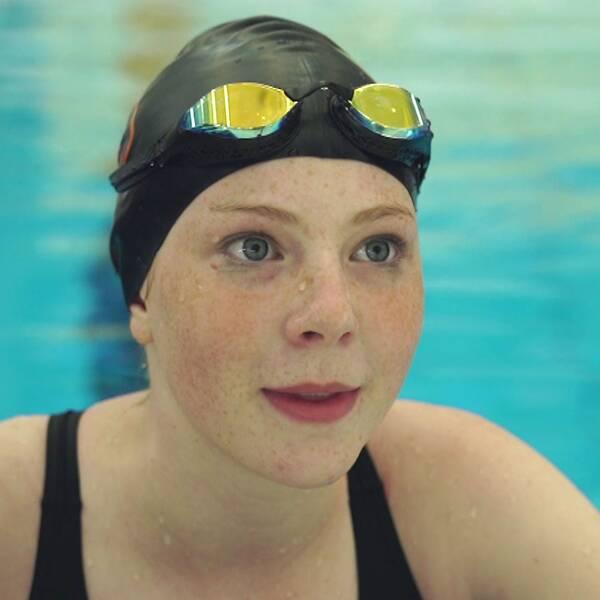 Judith Toorell mår bra nu, men hon orkar inte lika mycket i simbassängen