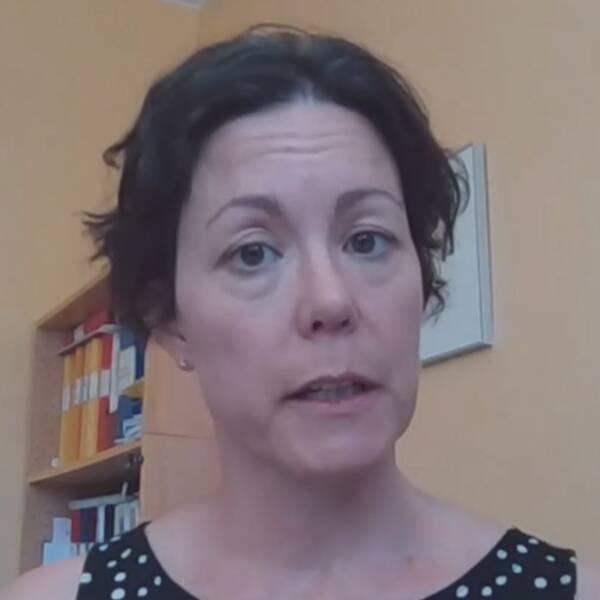 Region Hallands smittskyddsläkare Maria Ryberg Mo.
