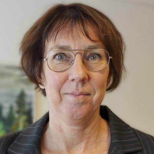 Vaccinationssamordnare Karin Sellgren.