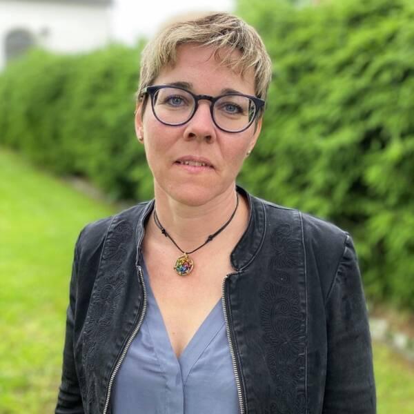 Jenny Drugge, ordförande distriktsstyrelsen Centerpartiet Dalarna.