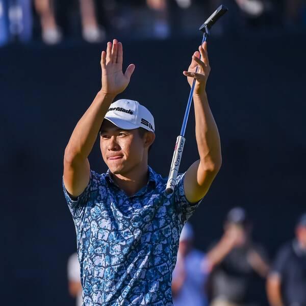 Collin Morikawa vann British Open.
