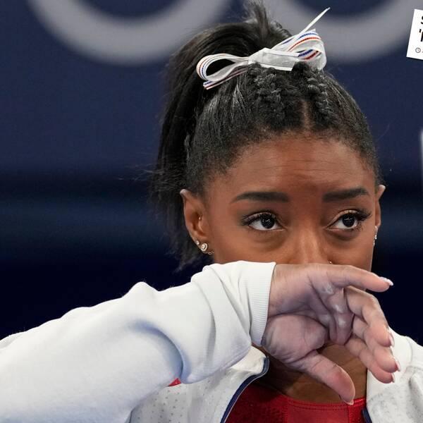 Simone Biles har fått ta emot många hyllningar efter sitt avhopp från lagfinalen.