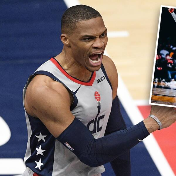 NBA-stjärnan Russell Westbrook uppges byta Washington Wizards mot Los Angles Lakers och har själv hintat om detsamma i sociala medier.