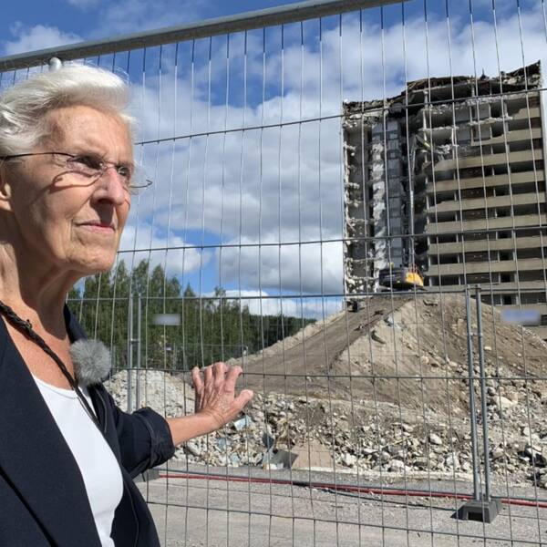 83-åriga Alice Olausson öppnade sin salong vid Focushuset 1962. Där jobbade hon i 55 år.