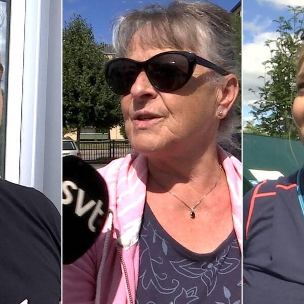 Tre intervjuade personer: Karar Al Assadi, Solveig Malmquist och Katarina Schmidt