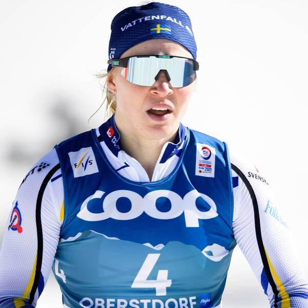 Frida Karlsson och Jonna Sundling.