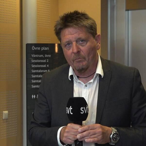 SVT:s Pierre Ragnehag.