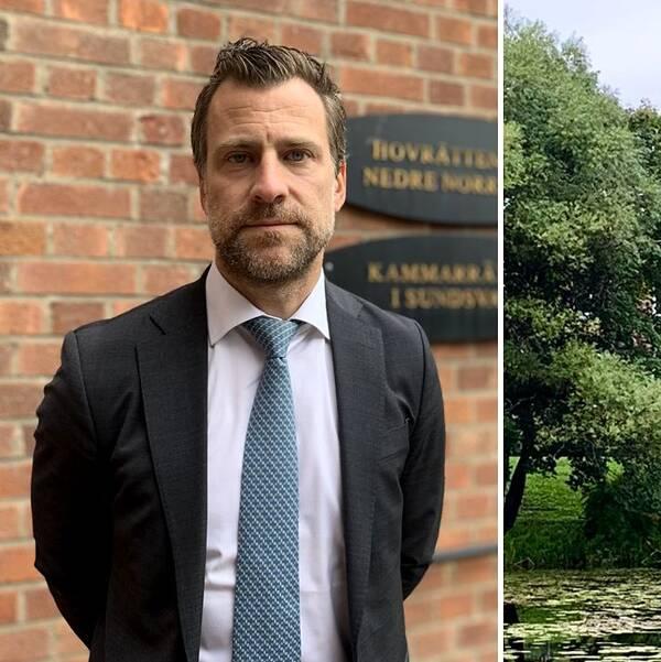 Advokat Jonas Granfelt, Hovrätten för nedre Norrland.